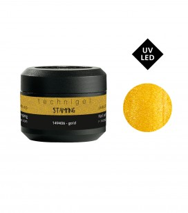 Nagels - Nail art - Stamping - Nail art gel - stamping - gold - REF. 149406