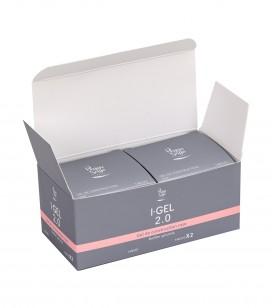 Nagels - Kunstnageltechnieken - I-gel - Set van 2 Bouwgels roze UV&LED I-GEL 2.0 146570 - REF. 146581