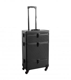 Make-up - Accessoires - Taschen und koffer - Studio professionele trolley koffer - black - REF. 201200
