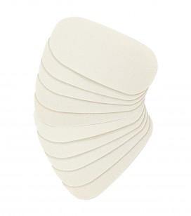 Lichaamsverzorging - Voetverzorging - Anti-eeltverzorging - 10 zelfklevende strips voor gladmakende rasp - REF. 550440