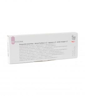 Combiset ampullen: olieachtig serum x 2 – waterachtig serum x 2 – stralende glans serum voor het gezicht x 2 - REF. 400755