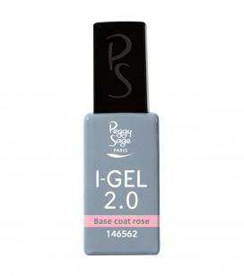 Nagels - Kunstnageltechnieken - Gels - Base coat roze UV&LED I-GEL 2.0 - REF. 146562