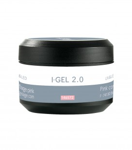 Nagels - Kunstnageltechnieken - I-gel - UV&LED I-GEL camouflage gel 2.0 roze - REF. 146572