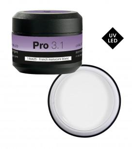 Nagels - Kunstnageltechnieken - Gels - UV & LED-Gel PRO 3.1 - French manucure blanc - REF. 146625