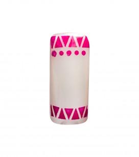 Adhesive nail stencils