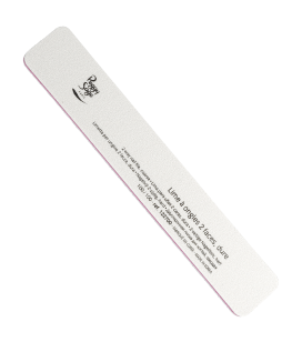 2-way washable rectangular nail file 100/100