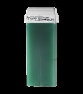 Cartridge of fat-soluble warm depilatory wax - vert