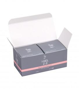Nails - Artificial nail construction - I-gel - Pack of 2 UV&LED I-GEL 2.0 cover-up gel, pink - 50 g 146572 - Sku 146583