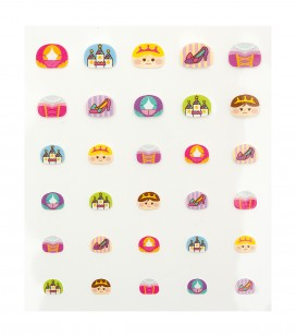Nails - Nail art - Nail decorations - Decorative nail stickers - Sku 149275