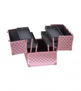 Maquillage - Accessoires - Petite bagagerie - Malette professionnelle - pink studio - Réf. 201000