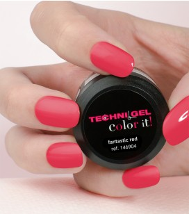 Gel de couleur pour ongles UV & LED Color it - fantastic red