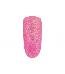 Ongles - Prothésie ongulaire - Gels - Gel UV/LED de couleur pour ongles pailleté - Fuchsia Rain - Réf. 146343