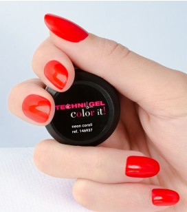 Gel de couleur pour ongles UV & LED Neon fashion - neon corail