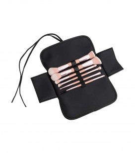 Set de 6 pinceaux double embouts maquillage