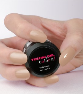Gel de couleur pour ongles UV & LED Color it - nude beige
