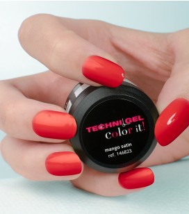 Gel de couleur pour ongles UV & LED Color it - mango satin