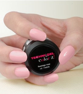 Gel de couleur pour ongles UV & LED Color it - flamingo rose