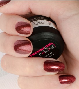 Gel de couleur pour ongles UV & LED Color it - radiant red