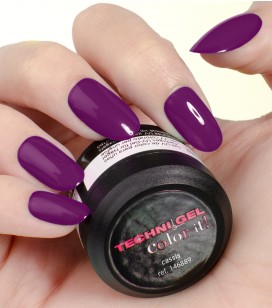 Gel de couleur pour ongles UV & LED Color it - cassis
