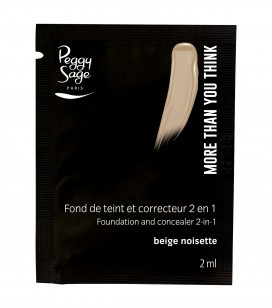 Maquillage - Teint - Fonds de teint - Echantillon -More than you think - FDT & correcteur 2 en 1 - Beige noisette - Réf. 810526