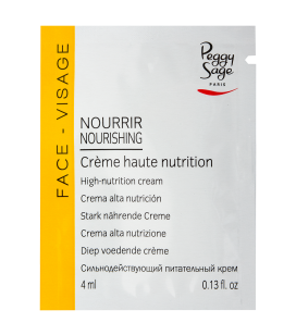 Soins du visage - Soins ciblés - Peaux sèches - Crème haute nutrition - échantillon - Réf. 400861