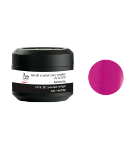 Gel de couleur pour ongles UV & LED Color it - fuchsia lily