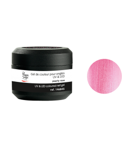Gel de couleur pour ongles UV & LED Color it - pearly rose
