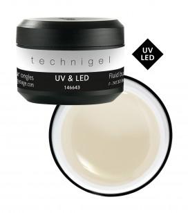 Ongles - Prothésie ongulaire - Technigel - Gel UV & LED de construction fluide pour ongles - Réf. 146643