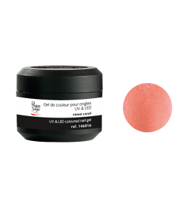 Gel de couleur pour ongles UV & LED Color it - sweet corail