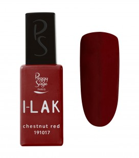Ongles - Vernis semi-permanent - I-lak - chestnut red - Réf. 191017