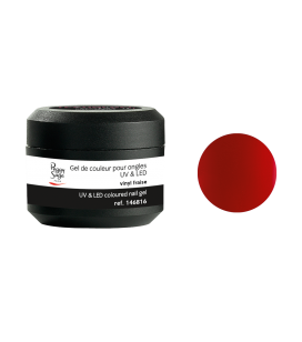 Gel de couleur pour ongles UV & LED Color it - vinyl fraise