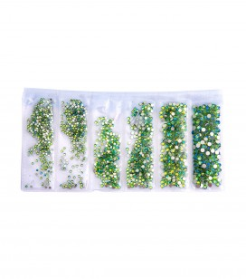 Ongles - Nail art - Strass pour ongles - Décors d'ongles cristal - mermaid - Réf. 148244