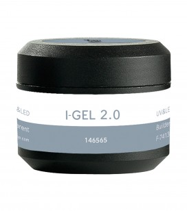 Ongles - Prothésie ongulaire - I-gel - Gel de construction transparent UV&LED I-GEL 2.0 - Réf. 146565