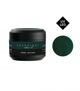 Ongles - Prothésie ongulaire - Gels - Gel UV&LED dark khaki - Réf. 146329