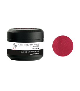 Gel de couleur pour ongles UV & LED Color it - pink cerise