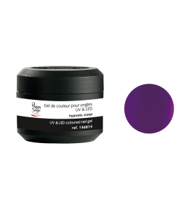 Gel de couleur pour ongles UV & LED Color it - hypnotic violet