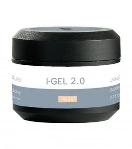 Ongles - Prothésie ongulaire - I-gel - Gel de camouflage pêche UV&LED I-GEL 2.0 - Réf. 146567
