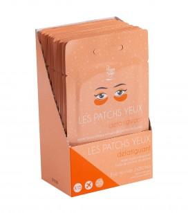 Accessoires pro - Présentoirs - Présentoir 15 patchs yeux défatiguant - Réf. 400145