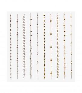 Ongles - Nail art - Décors pour ongles - Décors adhésifs pour ongles - Réf. 149216
