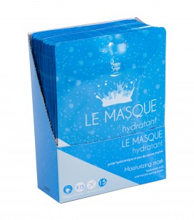 Accessoires pro - Présentoirs - Présentoir 15 masques hydratant - Réf. 401291