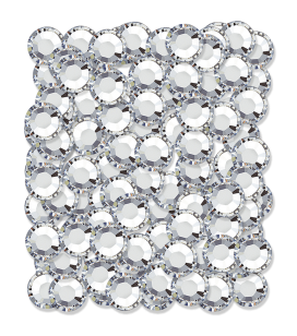 Strass pour ongles - argent