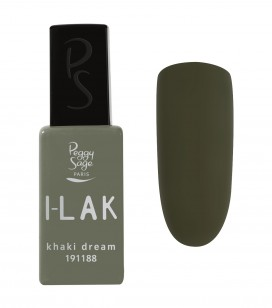 Ongles - Vernis semi-permanent - I-lak - Khaki Dream - Réf. 191188