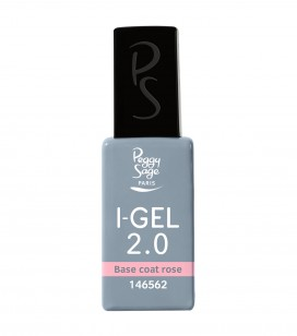 Ongles - Prothésie ongulaire - I-gel - Base coat rose UV&LED I-GEL 2.0 - Réf. 146562