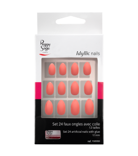 Kit 24 faux ongles Idyllic nails - Pink stiletto