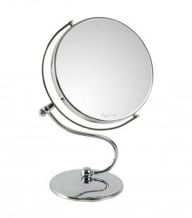 Make-up - Accessoires - Spiegelfläche - Doppelseitiger spiegel mit 10-fach Vergrößerung - Art.-Nr. 155233
