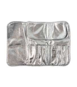 Etui für Nagel- und Make-up-Pinsel - silver - Art.-Nr. 141098