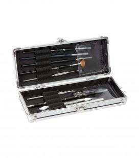 Nägel - Accessoires - Kleine maniküreinstrumente - Aufbewahrungskoffer für Pinsel - Art.-Nr. 200560