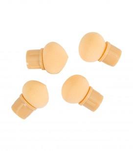 Nägel - Accessoires - Kleine maniküreinstrumente - Ersatz-Schaumstoffaufsatzstücke x 4 für Instrument - Art.-Nr. 141079