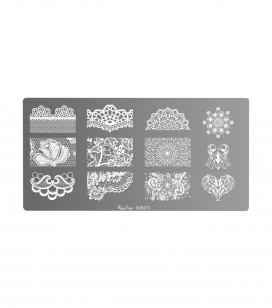 Nägel - Nail art - Stamping - Stamping-Platte Nail art - Art.-Nr. 898273