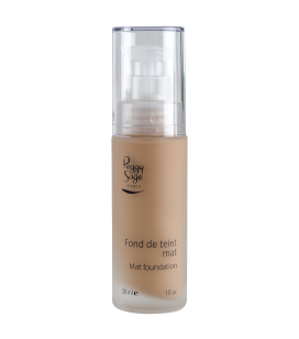 Mattierendes Make-up - beige noisette